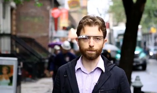 Google Glass Engadget video apžvalga