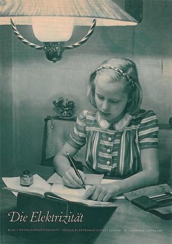 «Die Elektrizität» nach 25 Jahren (1947)
