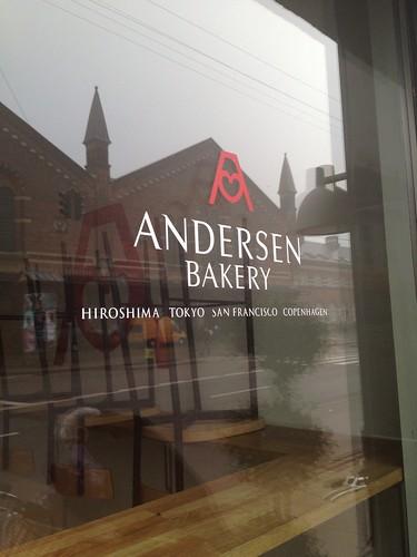 パン屋アンデルセンのコペンハーゲン店