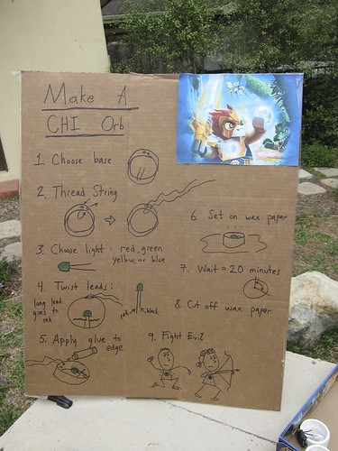 How to make a CHI orb