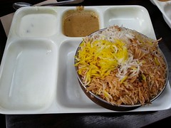 Goat biryani AUD13 - Chilli India Express, Melbour…