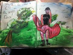 "Art Journal: Wearing a Kilt on Windy Days"" on YouTube"