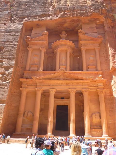 Petra's famous Treasury.