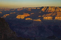 dawn - near Yaqui Point - Grand Canyon - 3-31-13  02