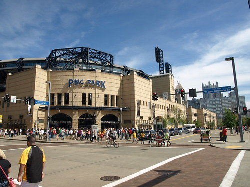 Home plate entrance PNC Park