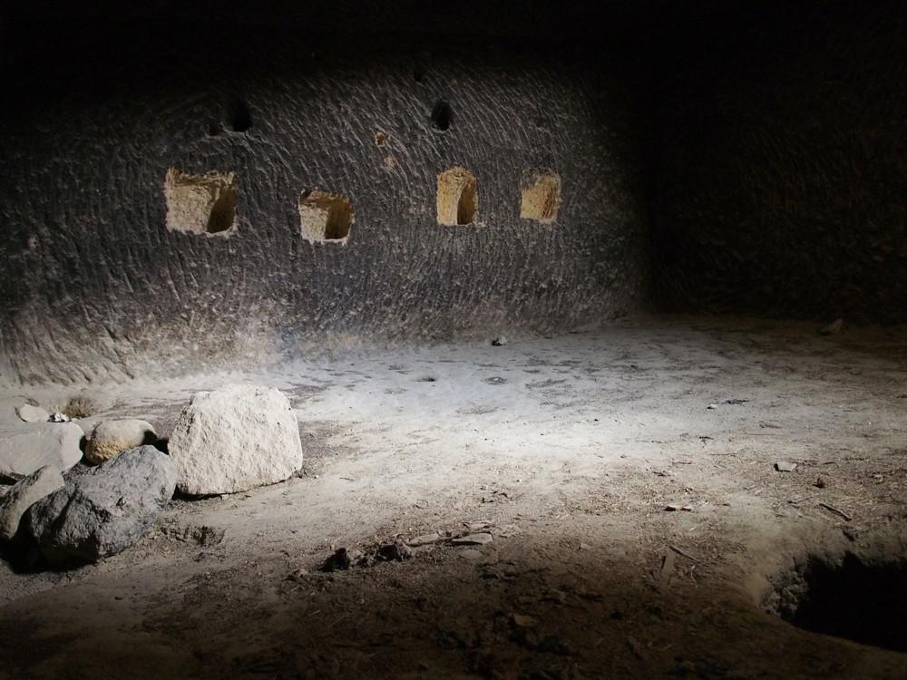 Cappadocia - cave dwelling, Çavuśin