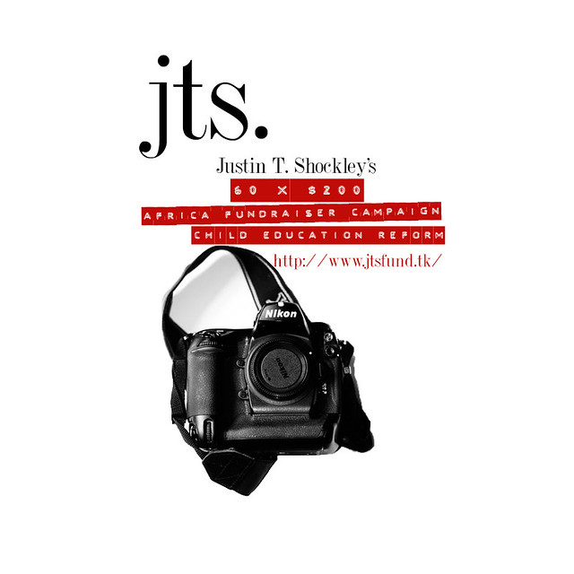 JTS 60 X $200 Fundraiser for Education Reform in Africa! Visit www.jtsfund.tk