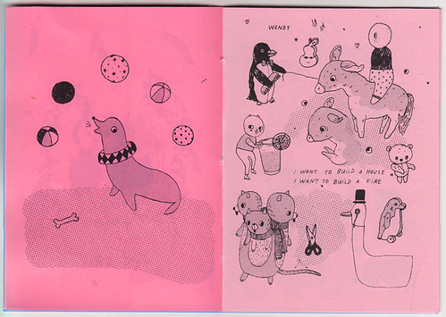 TOYS zine pages