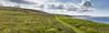 The Isle of Wight Coastal Path - West Wight Panorama by s0ulsurfing