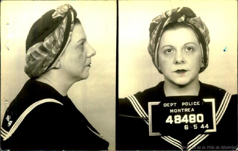 Lucie Delicato Bizante, tenancière, 6 mai 1944. P43-3-2_V24_E218-01