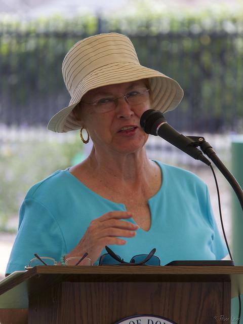 Treasure Island Park activist Luann Parker