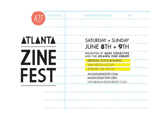 Atlanta Zine Fest 2013