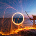 Fire ball - Light Painting by ₪ Mathieu Pierre photography