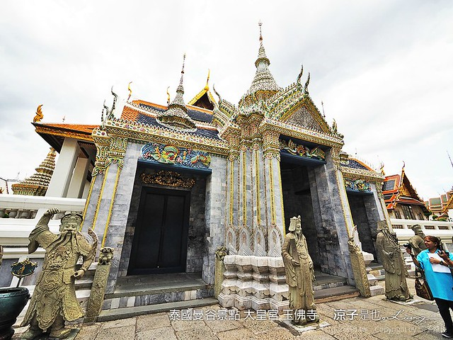 泰國曼谷景點 大皇宮 玉佛寺 2
