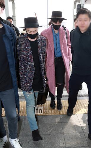 Big Bang - Incheon Airport - 21mar2015 - FN Star - 01