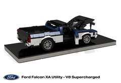 Ford XA Falcon Utility - V8 Supercharged SuperUte