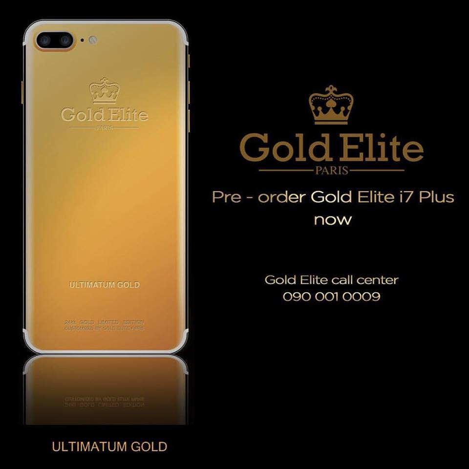 iPhone 7 Gold Elite