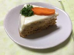 キャロットケーキ カット