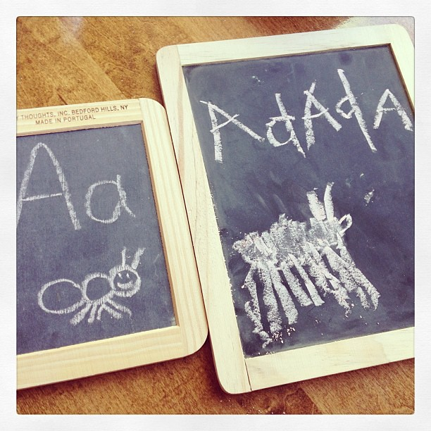 A is for Ant. ah ah Ant! #phonics #oldschool