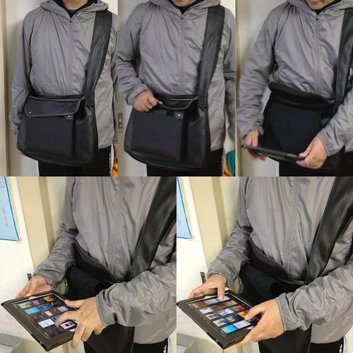 iPadがつくバッグ