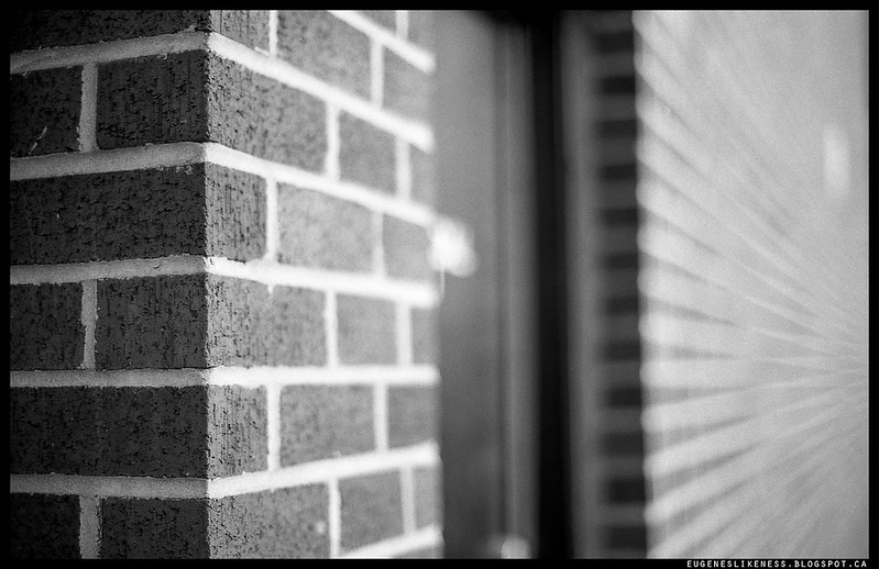 Brick wall bokeh