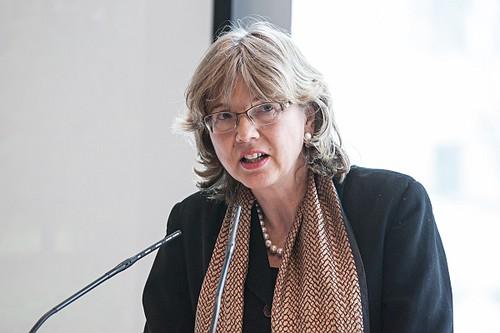 Prof. Susanne von der Heide bei den 17. Karlsruher Gesprächen (Bild: ZAK)