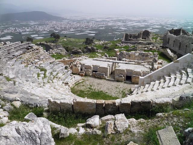 Roman theatre, Rhodiapolis, Turkey