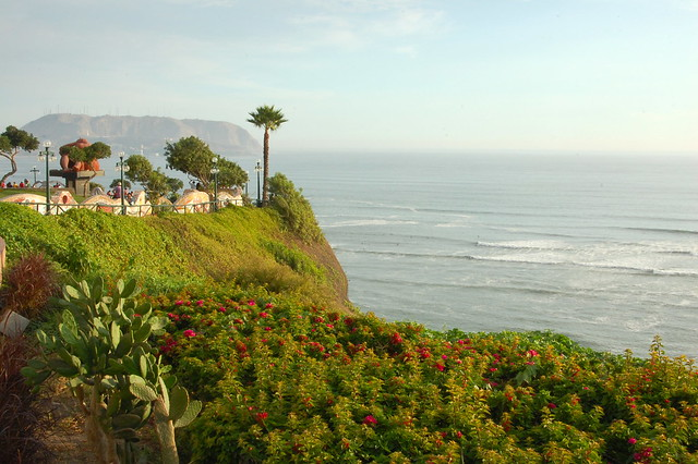 Views from the Malecon in Miraflores