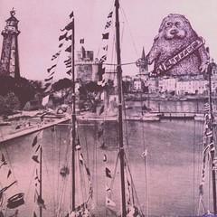 George Lucas character visits La Rochelle. ca. 1950.
