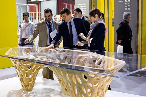 Maurizio Lupi visita il Salone del Mobile 2013 di Milano