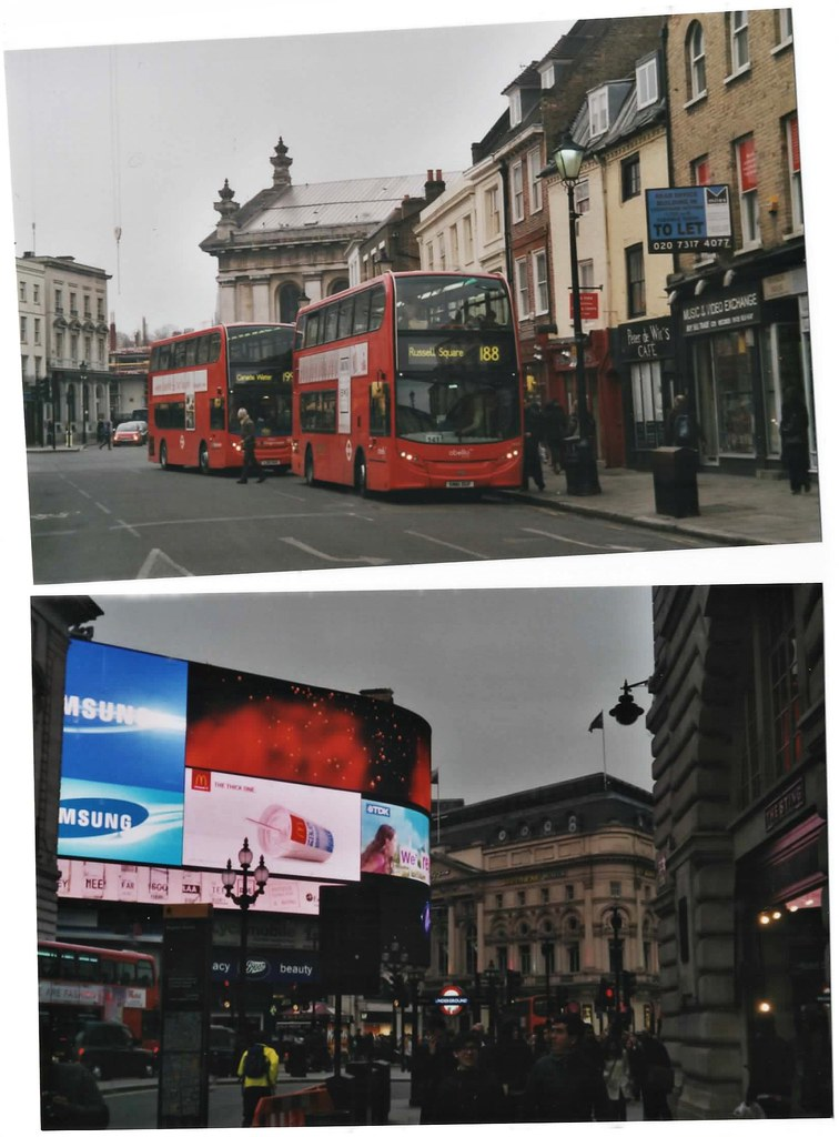Busses, Picadilly