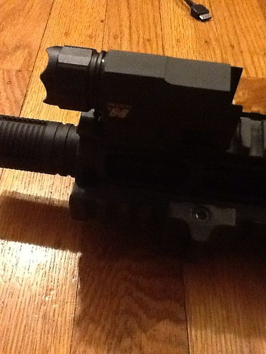 Tactical light for my paintball marker.
