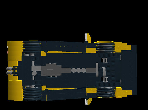Lamborghini Diablo VT 6.0 Chassis detail