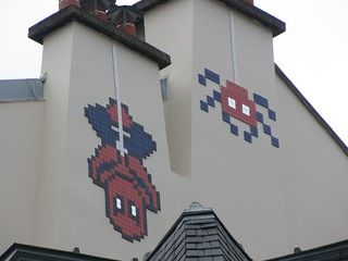 Space Invader PA_1040, Paris 1er
