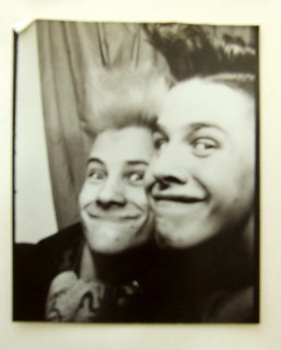 Photo Booth - Kingston - Early 1984 - Ribs & Me - Psychobilly Dayzzz