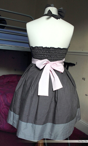 Companion Cube Dress - Back