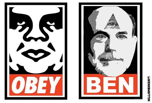 OBEY BEN by WilliamBanzai7/Colonel Flick