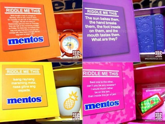 Mentos Rainbow Mystery Riddles