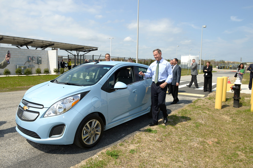 Governor O'Malley attends chevy spark announcement