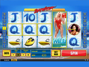 Baywatch slot game online review