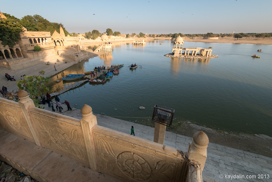 озеро в Джайсалмер, Jaisalmer lake