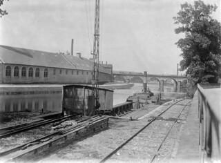 Fra Fajansefabrikken i Sarreguemines (ca. 1910)
