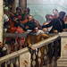 Detail of left stair, Paolo Veronese, Feast in the House of Levi by profzucker