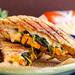 Grilled Buffalo Tempeh Mozzarella Sandwich by Yack_Attack