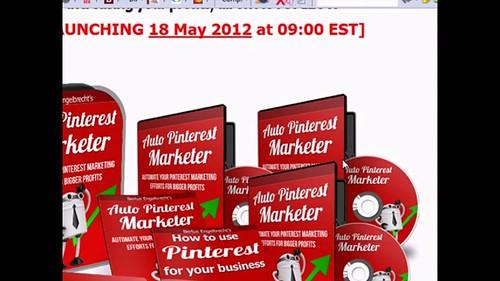Auto Pinterest Marketer Software Application