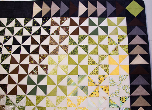 Origins by Basic Gray - Pinwheel quilt top