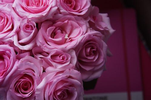 pink boquet