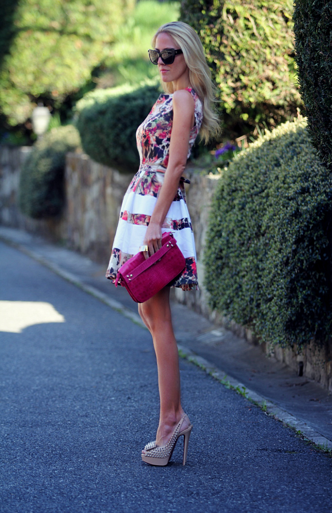 STYLE LOVER FLORAL DRESS II