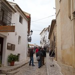 Street in old village, Guadalest