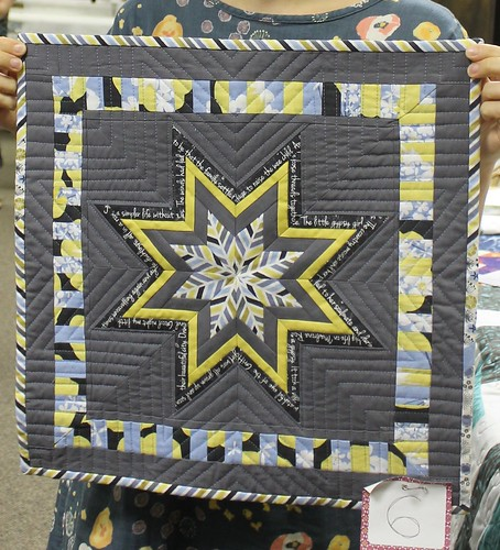Columbus Modern Quilt Guild Madrona Road Challenge Winner